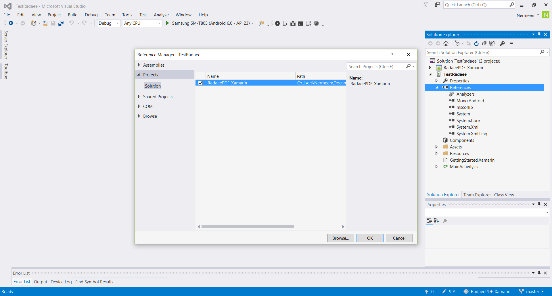 Knowledge Base - How to create your own APP with Xamarin