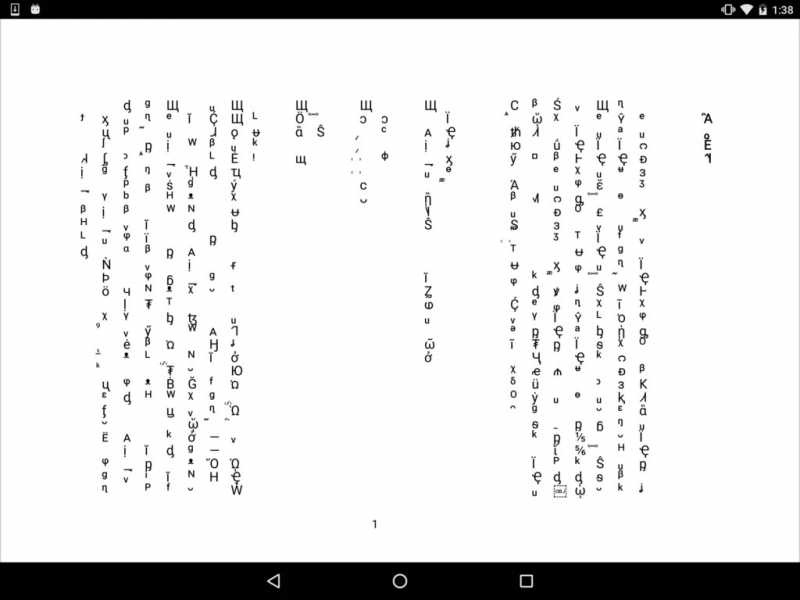 CJK fonts are garbled in Android6 - RadaeePDF com